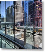 Ground Zero From World Financial Center Metal Print