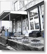 Ground Zero Metal Print