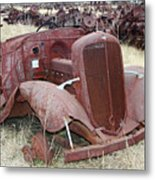 Grounded Chevy Metal Print