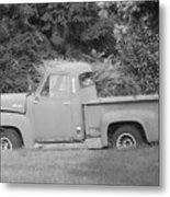 Grounded Pickup Metal Print