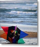 Grounded Rainbow Metal Print