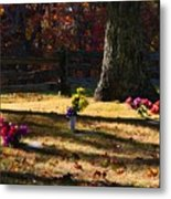 Groundhog Hill Cemetery Metal Print