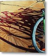 Group Hug - Bicycle Art Metal Print by Linda Apple