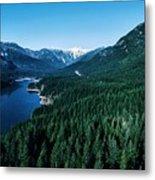 Grouse Mountain Metal Print