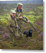 Grousing Scotland Nbr 1 Metal Print