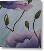 Growing Rains Metal Print
