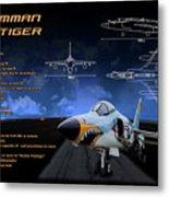 Grumman F-11 Tiger Metal Print