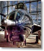 Grumman F9f-8 F-9j Cougar Metal Print
