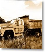 Grump The Ford Dump Truck Metal Print