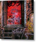 Grunge Junkies Unite Metal Print