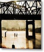 Grunge River Metal Print
