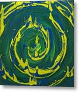 Guacamole Swirl Metal Print
