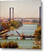 Guadalquivir River Metal Print