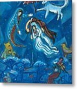 Guadalupe Visits Chagall Metal Print