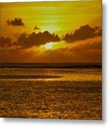 Guam Sunset Metal Print