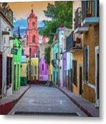 Guanajuato Backstreet Metal Print