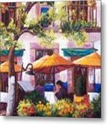 Guanajuato Cafe Metal Print