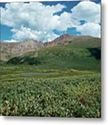 Guanella Pass Mt Bierstadt Metal Print by Michael Kirsh