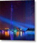 Guangzhou Tv Tower 1 Metal Print