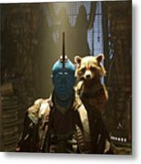 Guardians Of The Galaxy Vol. 2 Metal Print
