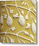 Guatemala Floral Detail Metal Print