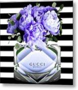 Gucci Perfume Violet Metal Print