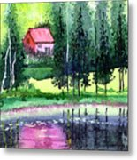 Guest House Metal Print