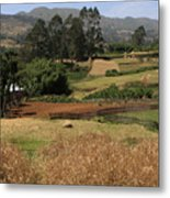 Guge Mountain Range Southern Ethiopia Metal Print