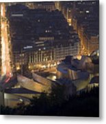 Guggenheim At Night II Metal Print