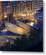 Guggenheim At Night Metal Print