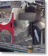 Guggenheim Bilbao Museum IIi Metal Print