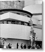 Guggenheim Museum Nyc Bw Metal Print