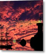 Guiding The Way Metal Print by Shane Bechler