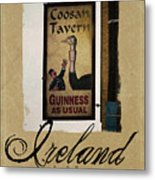 Guinness As Usual Athlone Ireland Metal Print