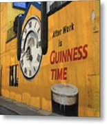 Guinness Beer 2 Metal Print