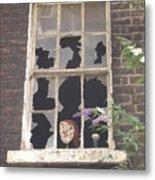 Guinness Window Watcher Metal Print