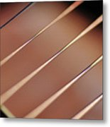 Guitar Abstract 2 Metal Print