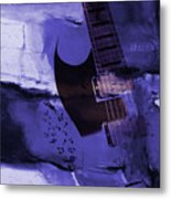 Guitar Art 001a Metal Print