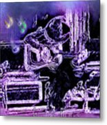 Guitar Blues Metal Print