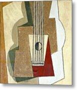 Guitar, By Pablo Picasso, 1919, Kroller-muller Museum, Hoge Velu Metal Print