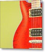 Guitar Pic Metal Print