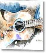 Guitar Riffs... Metal Print