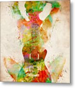 Guitar Siren Metal Print by Nikki Smith
