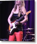Guitarist Ana Popovic Metal Print