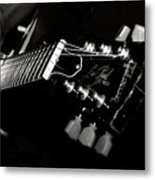 Guitarist Metal Print by Stelios Kleanthous