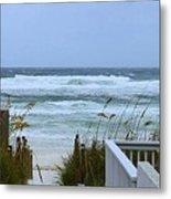 Gulf Coast Waves Metal Print