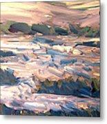 Gulf Island Sunset Metal Print