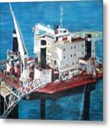 Gulf Marine Services - Naashi Metal Print