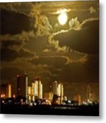 Gulf Shores Night Skys Metal Print