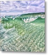 Gulf Waves Metal Print